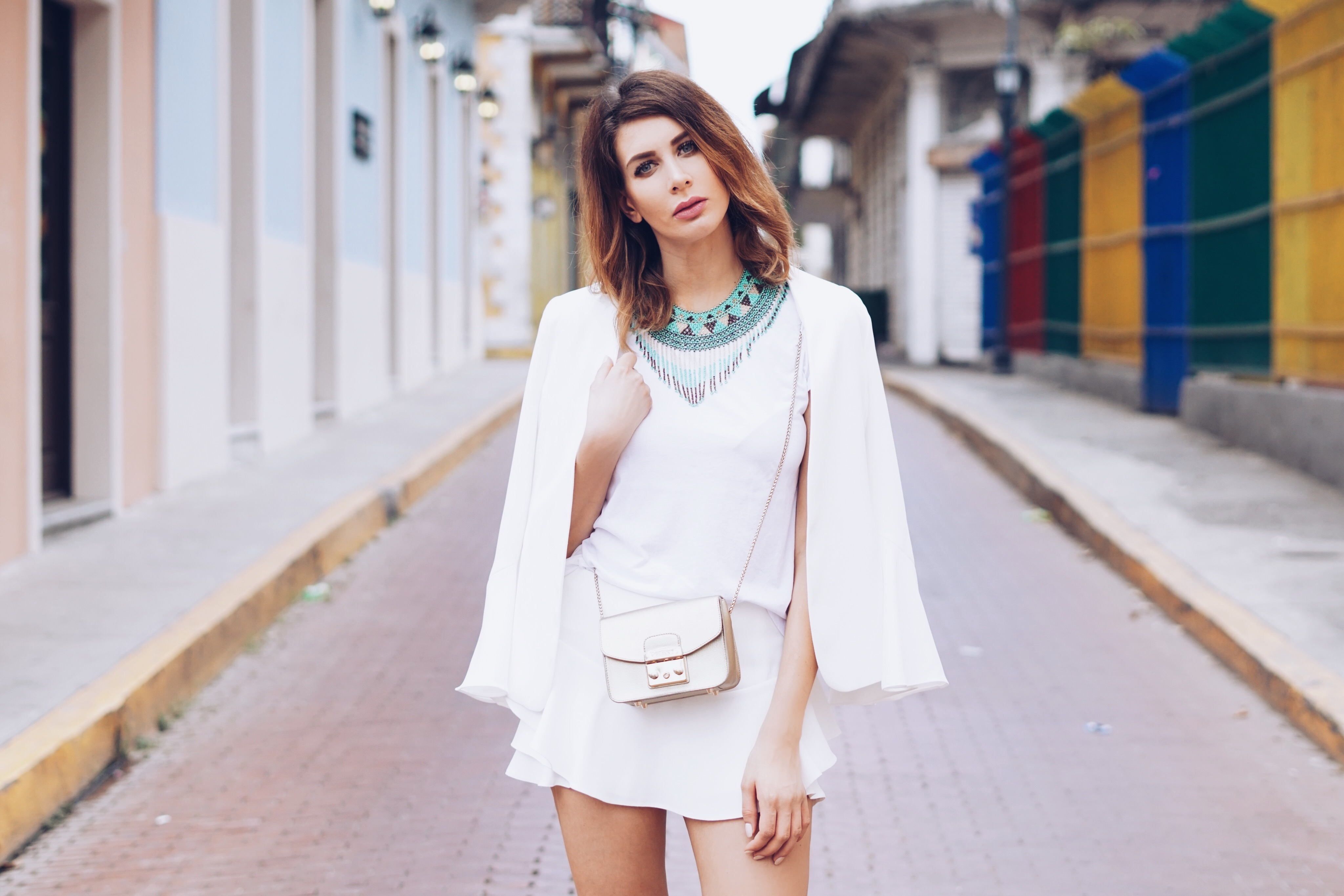 Outfit – all white everything