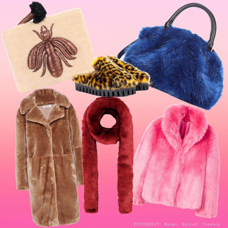 Die schönsten Fake Fur Pieces der Saison
