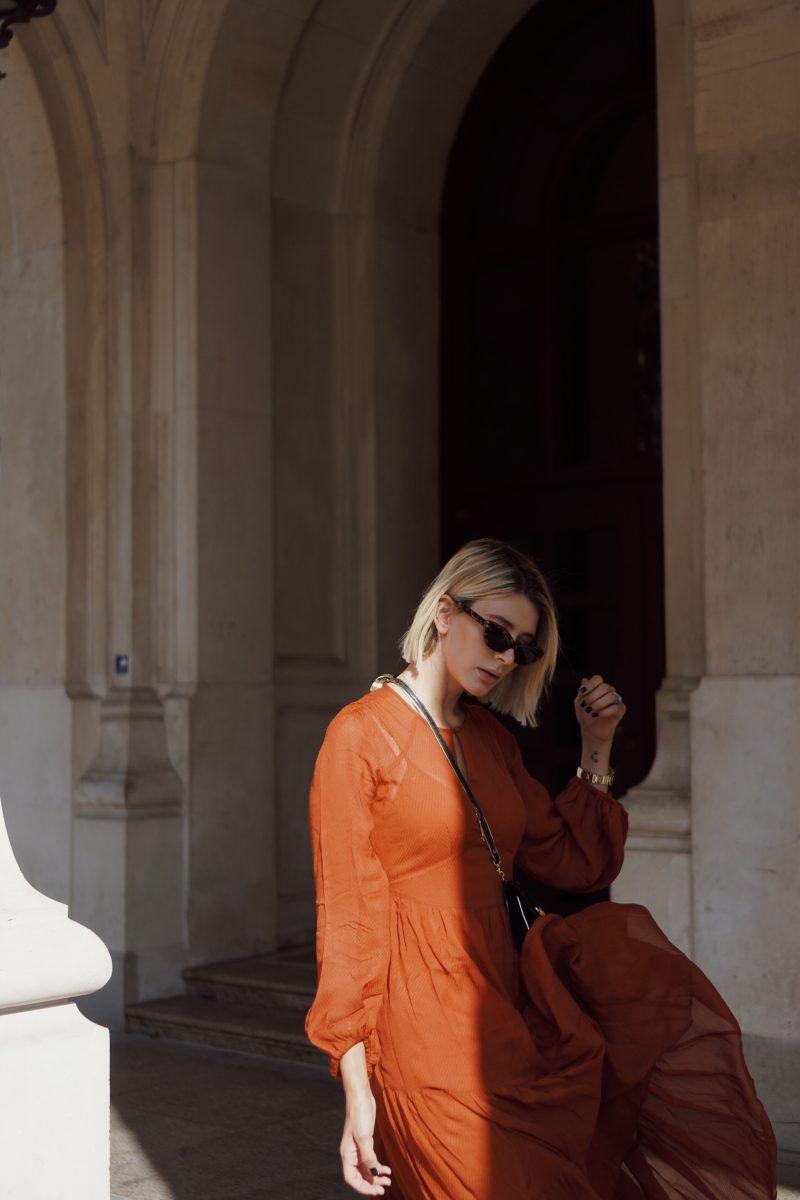 rostfarbenes-Kleid