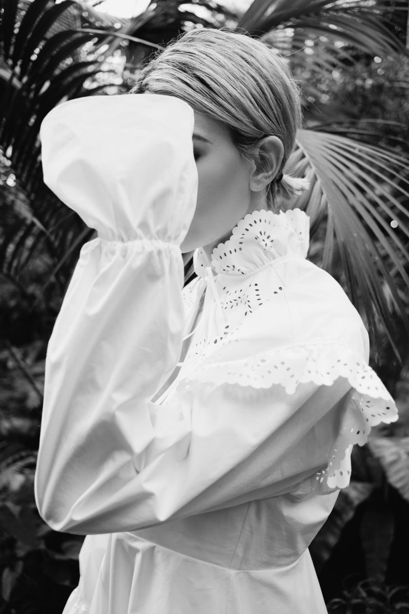 weißes-minikleid
