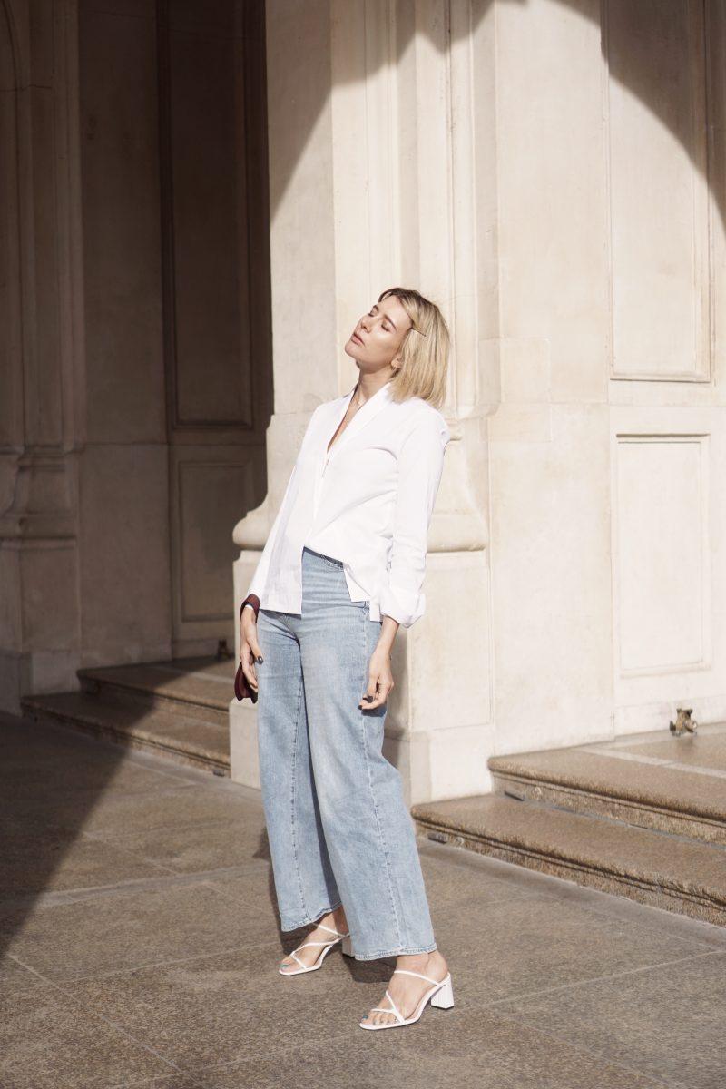 #timeless classics – die weiße Bluse von Eterna.