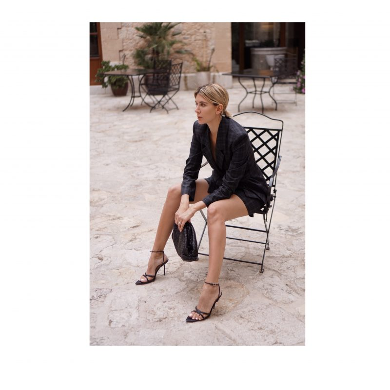 Power Dressing: Tibi suit with Shorts.